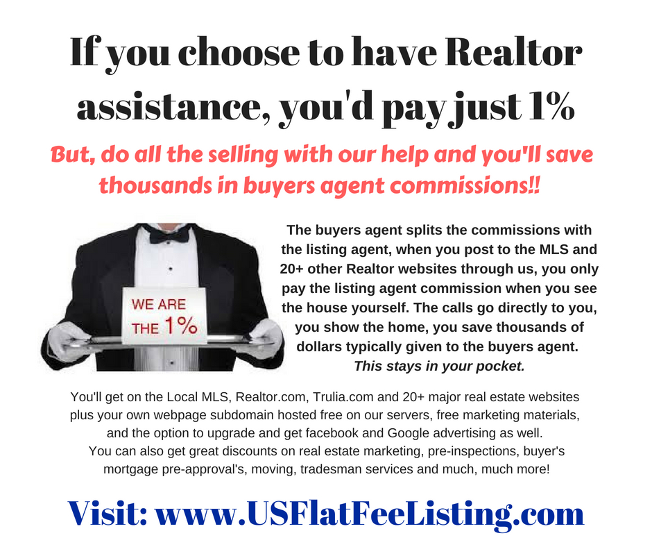 Flat Fee Listing and Flat Fee MLS Listing Services